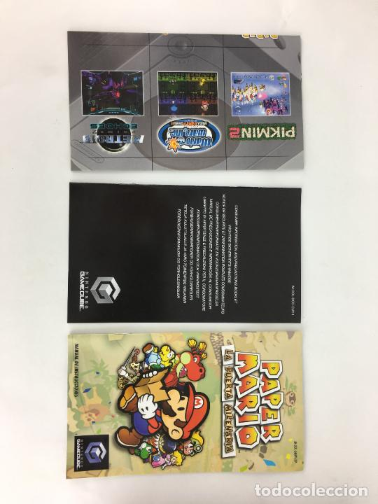 Videojuegos y Consolas: JUEGO GAMECUBE Paper Mario La puerta milenaria - COMPLETO - PAL ESPAÑA GAME CUBE - Foto 5 - 286992018