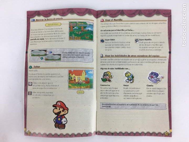 Videojuegos y Consolas: JUEGO GAMECUBE Paper Mario La puerta milenaria - COMPLETO - PAL ESPAÑA GAME CUBE - Foto 6 - 286992018