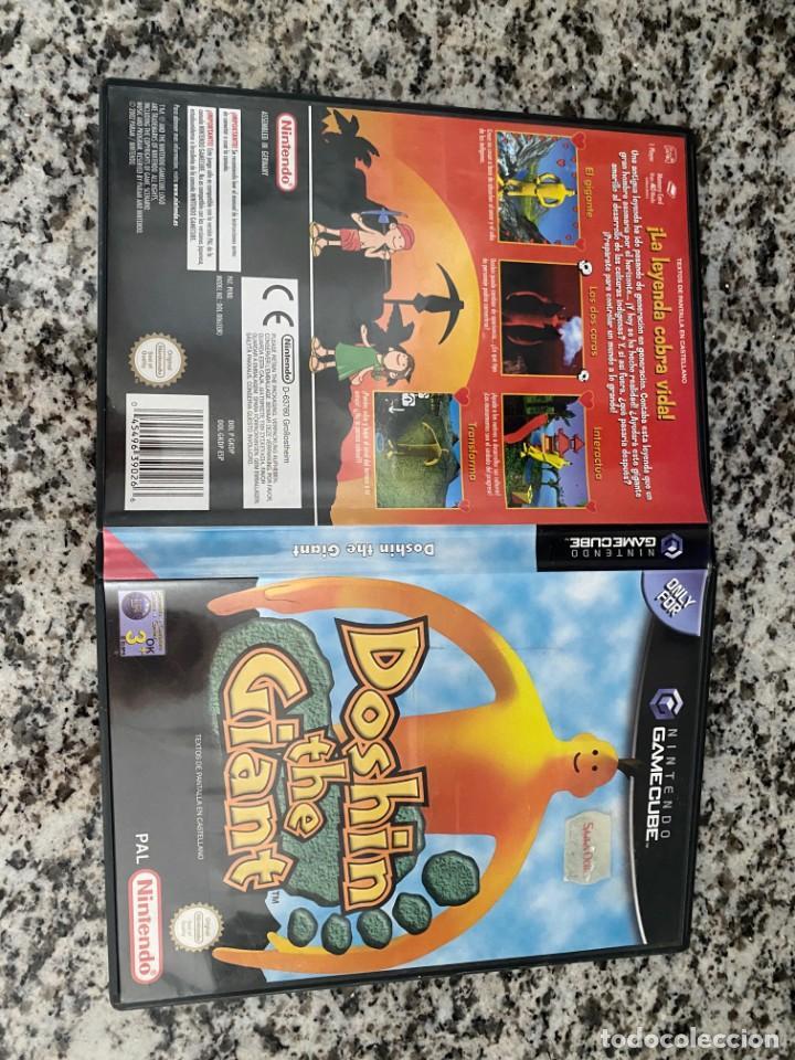 DOSHIN THE GIANT NINTENDO GAMECUBE PAL ESPANA COMPLETO (Juguetes - Videojuegos y Consolas - Nintendo - Gamecube)
