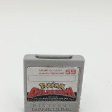 Videojuegos y Consolas: POKEMON COLOSSEUM MEMORY CARD NINTENDO GAMECUBE. Lote 287593108