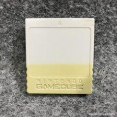 Videojuegos y Consolas: MEMORY CARD OFICIAL 59 BLOQUES GRIS NINTENDO GAME CUBE. Lote 287804963