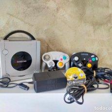 Videojuegos y Consolas: CONSOLA GAME CUBE CON MANDOS Y ZELDA TWILIGHT PRINCESS. Lote 288038388