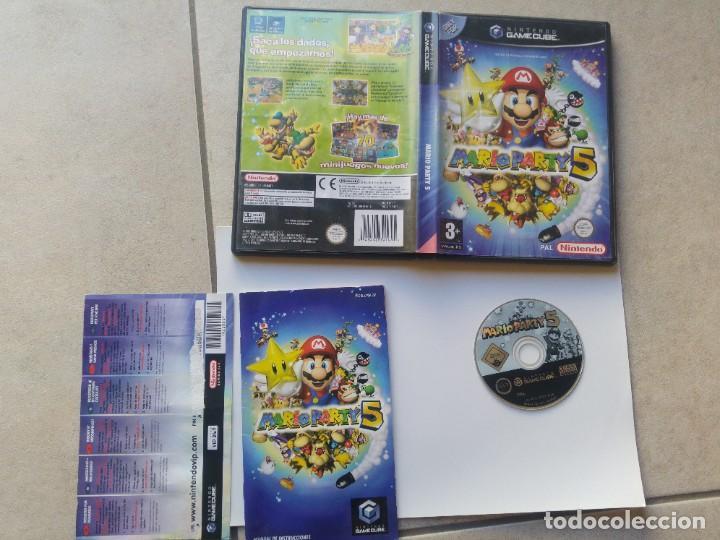 MARIO PARTY 5 NINTENDO GAMECUBE GC COMPLETO PAL-ESPAÑA ORIGINAL 100% (Juguetes - Videojuegos y Consolas - Nintendo - Gamecube)