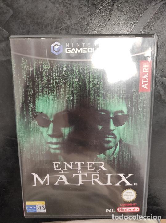 ENTER THE MATRIX (2 DISCOS, COMPLETO) PAL ESPAÑA NINTENDO GAMECUBE (Juguetes - Videojuegos y Consolas - Nintendo - Gamecube)