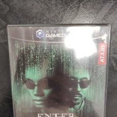 Videojuegos y Consolas: ENTER THE MATRIX (2 DISCOS, COMPLETO) PAL ESPAÑA NINTENDO GAMECUBE. Lote 288564473