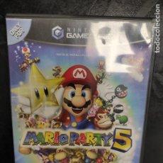 Videojuegos y Consolas: MARIO PARTY 5 NINTENDO GAMECUBE GC COMPLETO PAL-ESPAÑA. Lote 288564523