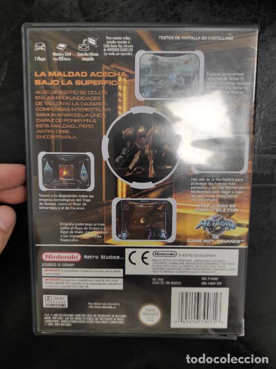 Videojuegos y Consolas: NINTENDO GAMECUBE - PAL / ESP - METROID PRIME - COMPLETO - NINTENDO GAME CUBE - Foto 2 - 288564693