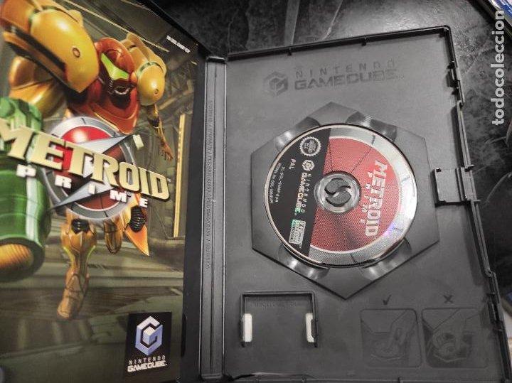 Videojuegos y Consolas: NINTENDO GAMECUBE - PAL / ESP - METROID PRIME - COMPLETO - NINTENDO GAME CUBE - Foto 3 - 288564693