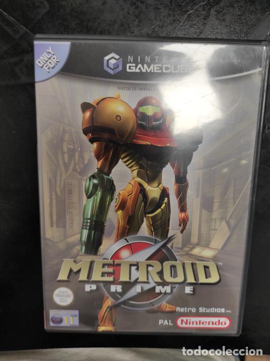 NINTENDO GAMECUBE - PAL / ESP - METROID PRIME - COMPLETO - NINTENDO GAME CUBE (Juguetes - Videojuegos y Consolas - Nintendo - Gamecube)