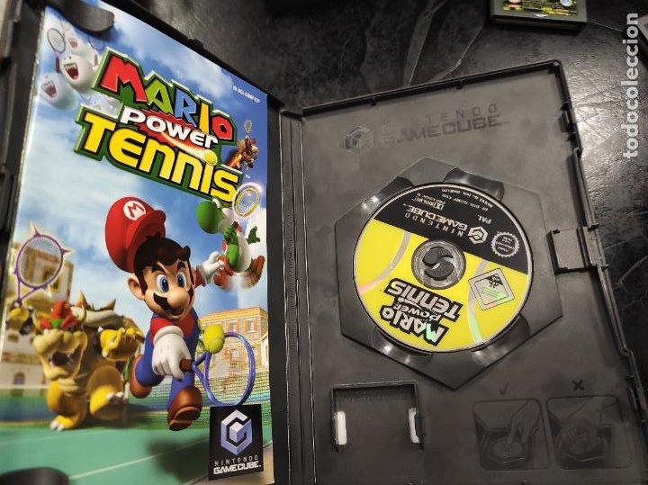 Videojuegos y Consolas: Mario Power Tennis para Nintendo Gamecube PAL ESP Completo - Foto 2 - 288565133