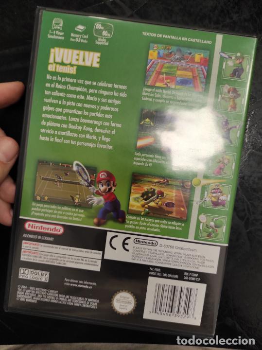 Videojuegos y Consolas: Mario Power Tennis para Nintendo Gamecube PAL ESP Completo - Foto 3 - 288565133