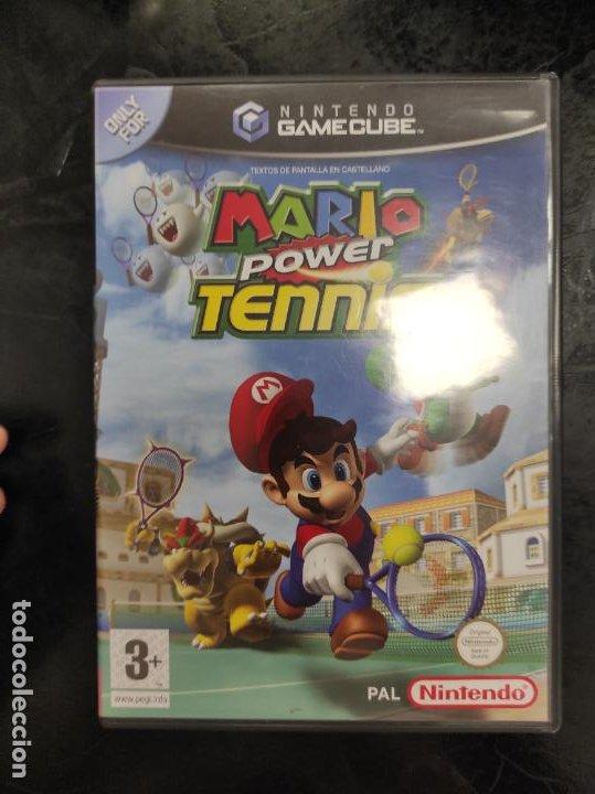 MARIO POWER TENNIS PARA NINTENDO GAMECUBE PAL ESP COMPLETO (Juguetes - Videojuegos y Consolas - Nintendo - Gamecube)