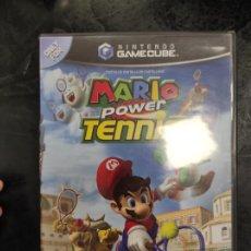 Videojuegos y Consolas: MARIO POWER TENNIS PARA NINTENDO GAMECUBE PAL ESP COMPLETO. Lote 288565133