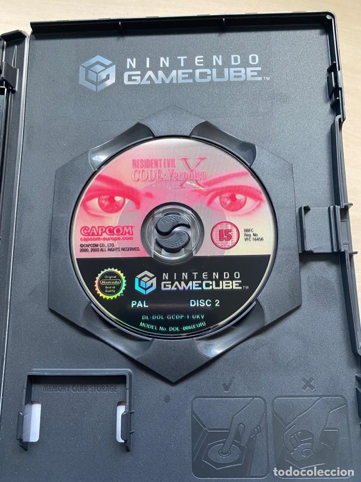 Videojuegos y Consolas: Resident Evil Code Veronica X - Gamecube - Foto 3 - 288573208