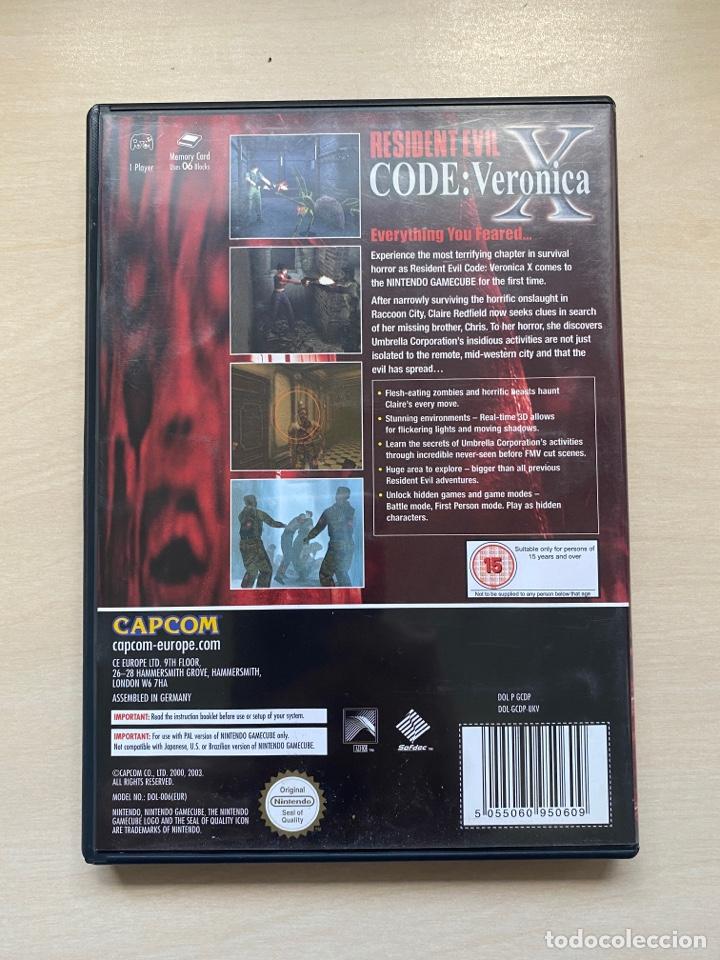 Videojuegos y Consolas: Resident Evil Code Veronica X - Gamecube - Foto 4 - 288573208