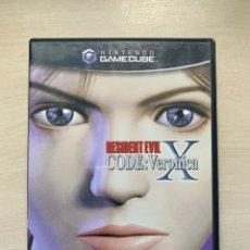 Videojuegos y Consolas: RESIDENT EVIL CODE VERONICA X - GAMECUBE. Lote 288573208
