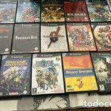 Videojogos e Consolas: LOTE NINTENDO GAMECUBE 16 JUEGOS. Lote 288596703