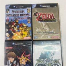 Videojuegos y Consolas: LOTE DE 4 JUEGOS PARA GAMECUBE. Lote 289846433