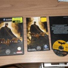 Videojuegos y Consolas: BATMAN BEGINS COMPLETO NINTENDO GAKMECUBE GAME CUBE PAL ESPAÑA. Lote 290940688