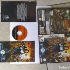 Videojuegos y Consolas: EL SEÑOR DE LOS ANILLOS EL RETORNO DEL REY NINTENDO GAMECUBE COMPLETO PAL-ESPAÑA. Lote 294032533