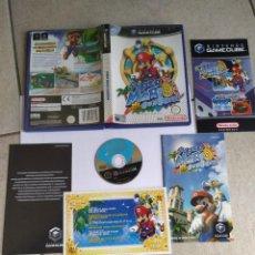 Videojuegos y Consolas: SUPER MARIO SUNSHINE NINTENDO GAMECUBE COMPLETO PAL-ESPAÑA. Lote 294032823