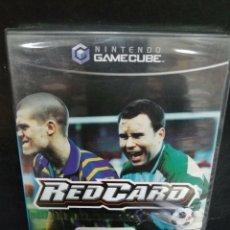 Videojuegos y Consolas: NINTENDO GAMECUBE RED CARD NUEVO/PRECINTADO. Lote 296773488