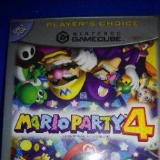 Videojuegos y Consolas: MARIO PARTY 4 PARA LA NINTENDO GAMECUBE Y WII PAL COMPLETO VERSIÓN ESPAÑOLA ESP. Lote 297258918