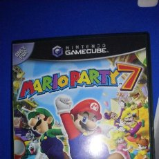 Videojuegos y Consolas: MARIO PARTY 7 CARATULA Y MANUAL UK CON JUEGO MARIO PARTY 5 NINTENDO GAMECUBE. Lote 297259618