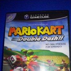 Videojuegos y Consolas: MARIO KART DOUBLE DASH PARA NINTENDO GAMECUBE Y WII COMPLETO PAL EN ESPAÑOL. Lote 297260943