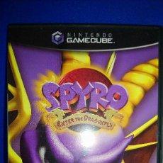 Videojuegos y Consolas: SPYRO ENTER THE DRAGONFLY GAMECUBE NINTENDO. Lote 297265043