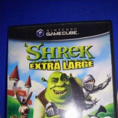 Videojuegos y Consolas: SHREK EXTRA LARGE PARA NINTENDO GAMECUBE Y WII PAL COMPLETO VERSIÓN ESPAÑOLA. Lote 297265713