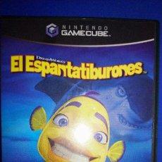 Videojuegos y Consolas: NINTENDO GAMECUBE GAME CUBE GC EL ESPANTATIBURONES COMPLETO PAL ESPAÑA. Lote 297265968