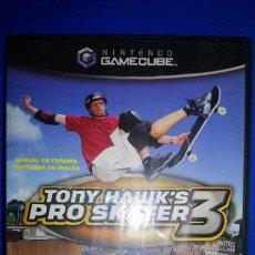 Videojuegos y Consolas: NINTENDO GAMECUBE TONY HAWK´S PRO SKATER 3 PAL ESPAÑA. Lote 297267148
