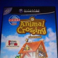 Videojuegos y Consolas: ANIMAL CROSSING (NINTENDO GAMECUBE, 2002) COMPLETO. Lote 297268058