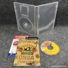 Videojuegos y Consolas: DONKEY KONGA JAP NINTENDO GAME CUBE. Lote 297281598