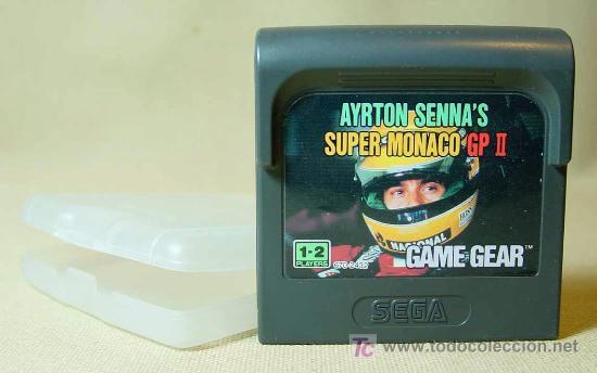 JUEGO CONSOLA, ORIGINAL, SEGA, GAME GEAR, AYRTON SENNA, SUPER MONACO GP 2, JAPON (Juguetes - Videojuegos y Consolas - Sega - GameGear)