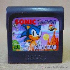 Videojuegos y Consolas: JUEGO CONSOLA, ORIGINAL, SEGA, GAME GEAR, SONIC THE HEDGEHOG, JAPON. Lote 24697867