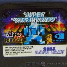 Videojuegos y Consolas: JUEGO CONSOLA, ORIGINAL SEGA GAME GEAR,SUPER ESPACE INVADERS. Lote 25383418