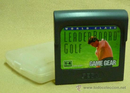JUEGO CONSOLA, ORIGINAL SEGA GAME GEAR, LEADERBOARD GOLF (Juguetes - Videojuegos y Consolas - Sega - GameGear)