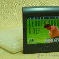 Videojuegos y Consolas: JUEGO CONSOLA, ORIGINAL SEGA GAME GEAR, LEADERBOARD GOLF. Lote 25383666