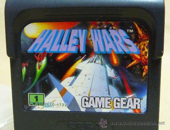 Videojuegos y Consolas: JUEGO CONSOLA, ORIGINAL SEGA GAME GEAR, HALLEY WARS - Foto 2 - 25383459