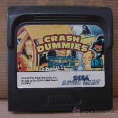VIDEO JUEGO SEGA - GAME GEAR - CRASH DUMMIES