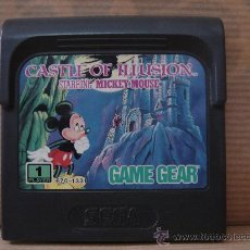 VIDEO JUEGO SEGA - GAME GEAR - CASTLE OF ILUSION MICKEY MOUSE