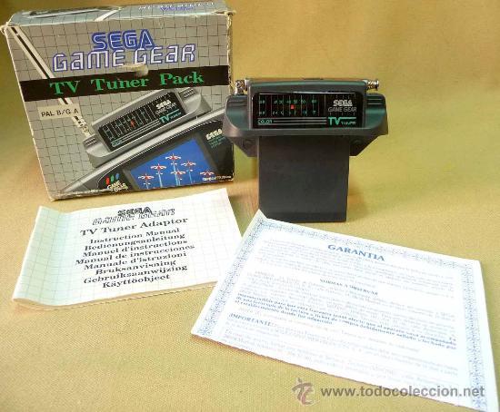 SEGA, GAME GEAR, ACCESORIO PARA CONSOLA, RADIO TV PACK (Juguetes - Videojuegos y Consolas - Sega - GameGear)