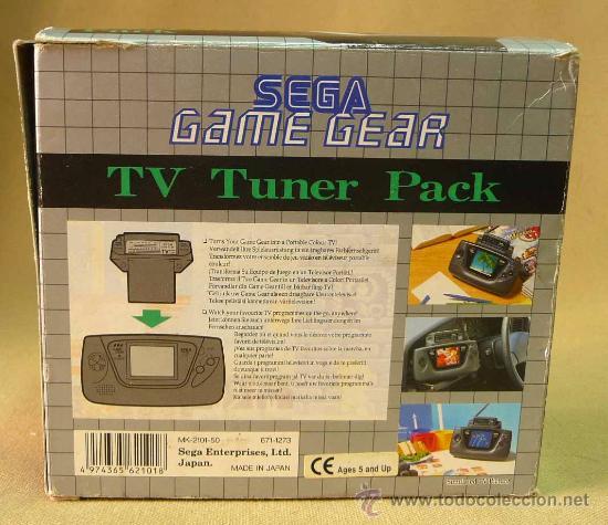 Videojuegos y Consolas: SEGA, GAME GEAR, ACCESORIO PARA CONSOLA, RADIO TV PACK - Foto 3 - 27905069