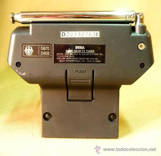 Videojuegos y Consolas: SEGA, GAME GEAR, ACCESORIO PARA CONSOLA, RADIO TV PACK - Foto 9 - 27905069