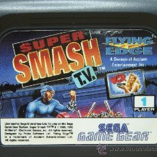 VIDEO JUEGO SEGA - GAME GEAR - SUPER SAMSH TV