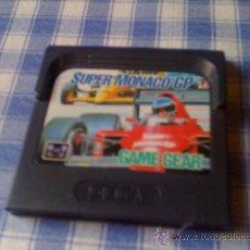 Videojuegos y Consolas: SUPER MONACO GP PARA SEGA GAMEGEAR - GAME GEAR GG SGG JUEGOS - SALCEDUS - HAZ TU OFERTA!. Lote 28092474