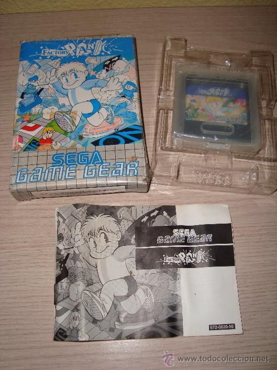 JUEGO SEGA GAME GEAR FACTORY PANIC AÑO 1991 (Juguetes - Videojuegos y Consolas - Sega - GameGear)