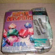 Videojuegos y Consolas: JUEGO SUPER COLUMNS DE SEGA GAME GEAR - AÑO 95 - INCLUYE CABLE - PRECINTADO!!!. Lote 29085041